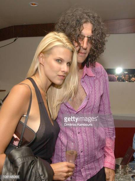 Beth Ostrosky and Howard Stern during Hamptons and Gotham Magazines Celebrate Their Covergirl Beth Ostrosky at Jet East in Southampton New York...