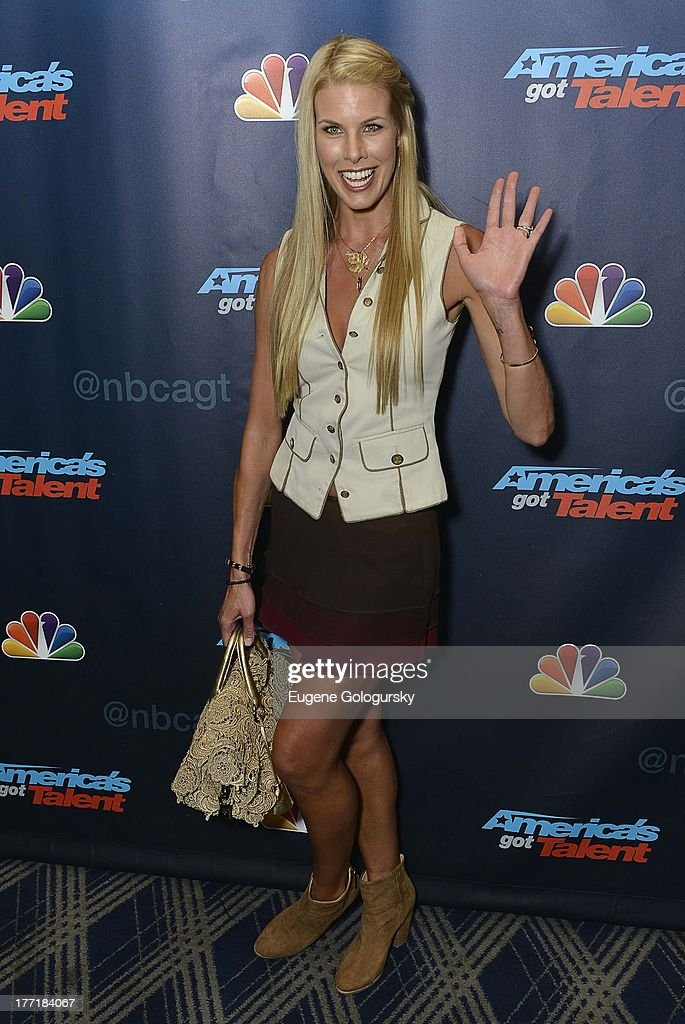 Beth Ostrosky attends the 'America's Got Talent' post show red carpet at Radio City Music Hall on August 21, 2013 in New York City.