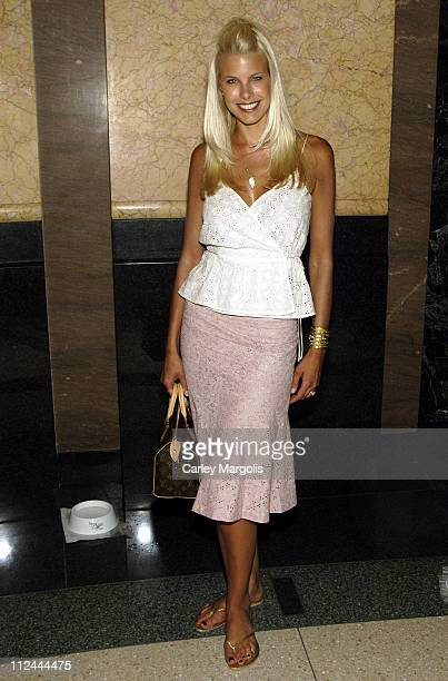 Beth Ostrosky during BarkALicious Reception and Screening of 'Must Love Dogs' at Warner Brothers Screening Room in New York City New York United...