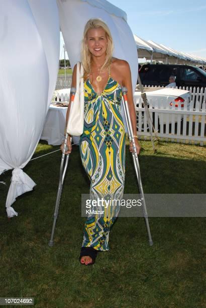 Beth Ostrosky during Jessica Biel and Molasses Reef Host the 2006 MercedesBenz Polo Challenge at Bridgehampton Polo Club in Bridgehampton New York...