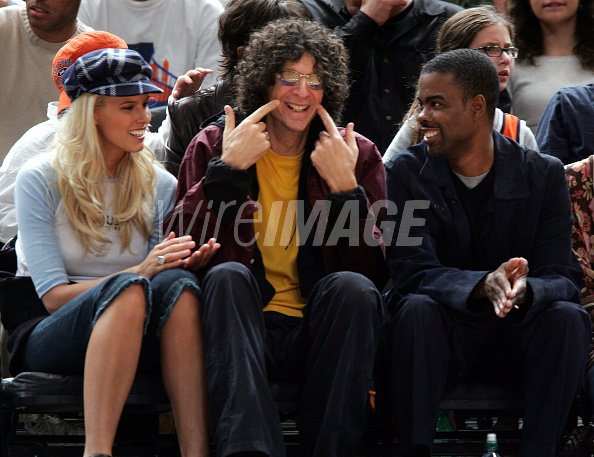 Beth Ostrosky Howard Stern And Chris Rock During Celebrities Attend Wireimage 112444410 Howard stern is an american radio personality who is best known for his radio show the howard stern show. http www wireimage com celebrity pictures beth ostrosky howard stern and chris rock during celebrities attend 112444410