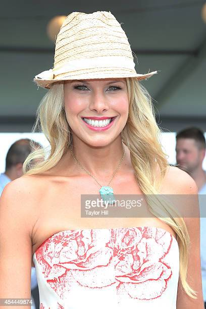 Beth Ostrosky Stern attends the 39th Annual Hampton Classic Horse Show on August 31 2014 in Bridgehampton New York