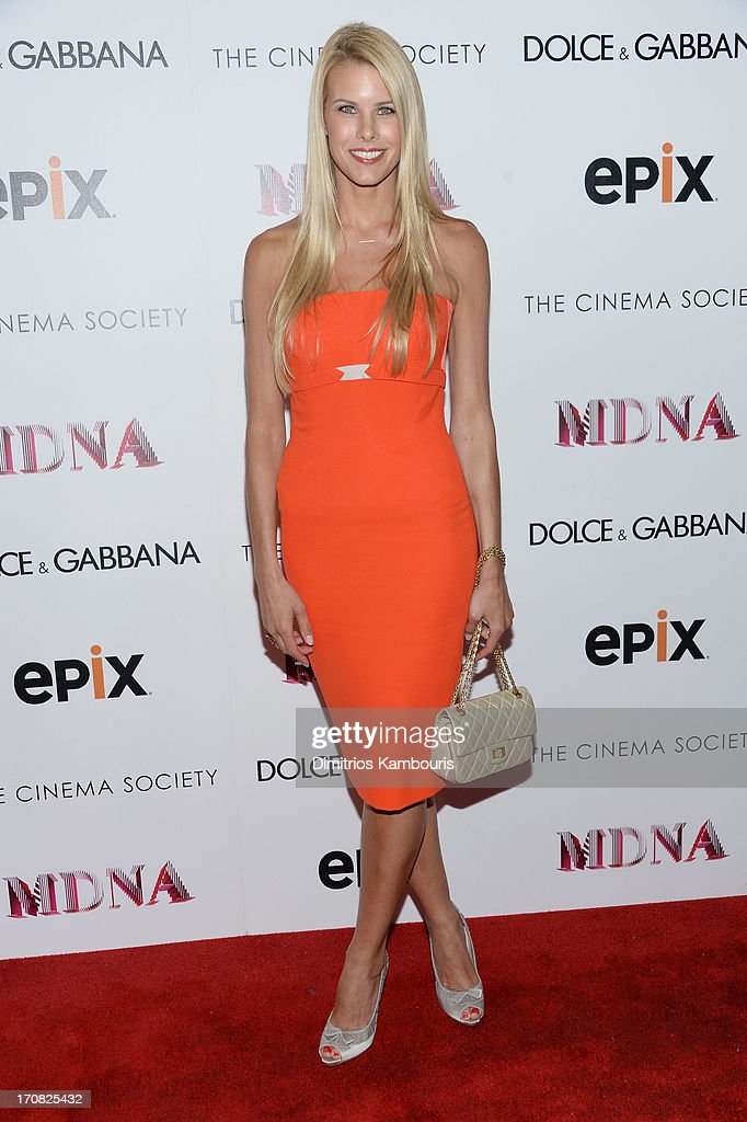 Beth Ostrosky Stern attends the Dolce & Gabbana and The Cinema Society screening of the Epix World premiere of 'Madonna: The MDNA Tour' at The Paris Theatre on June 18, 2013 in New York City.