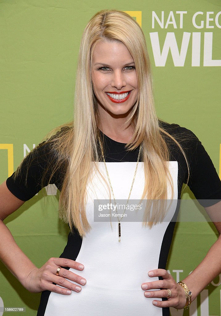 Beth Ostrosky Stern attends the National Geographic Channels' '2013 Winter TCA' Cocktail Party at the Langham Huntington Hotel on January 3, 2013 in Pasadena, California.