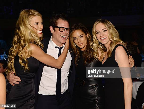 Beth Ostrosky Stern Johnny Knoxville Lisa Ann Russell and Molly McNearney attend 'Howard Stern's Birthday Bash' presented by SiriusXM produced by...
