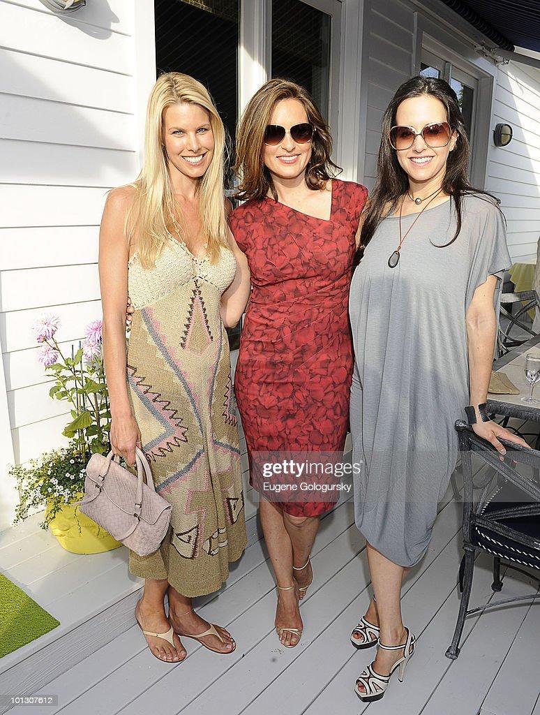 Haley and Jason Binn along with Mariska Hargitay Host An Memorial Day Party