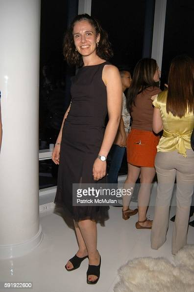 Beth Rosenstien attends Oxfam America Charity Event at 'Esquire Downtown' at Astor Place at Esquire Downtown at Astor Place on October 7 2005 in New...