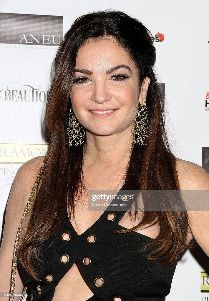 Beth Shak attends Real Housewives of New York Season 8 Premiere Party at Beautique on March 29, 2016 in New York City.