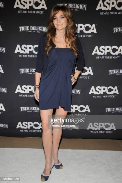 Beth Shak attends The Young Friends of The ASPCA presents 'It's Raining Cats and Dogs' Annual Fundraiser at The IAC Building on October 8 2009 in New...