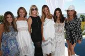 Beth Shak Jill Zarin Vicki Gunvalson Kelly Bensimon Jill Zarin Cindy Barshop and Kathy Wakile attend Jill Zarin's 4th Annual Luxury Luncheon at...