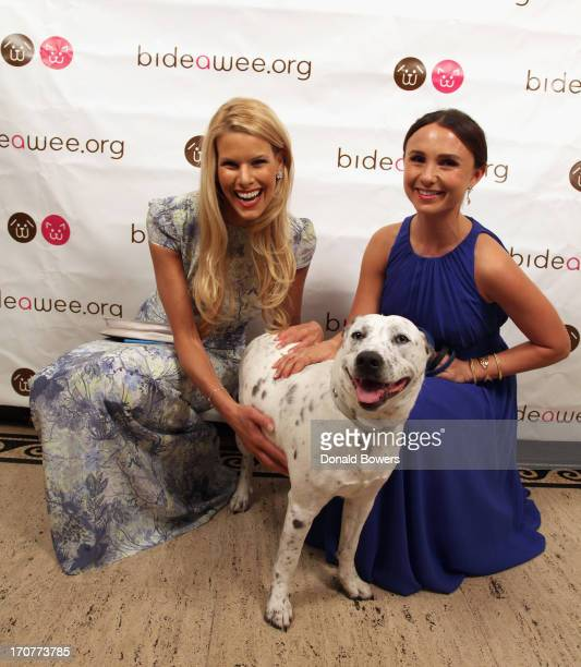 Beth Stern and Georgina Bloomberg attend Bideawee Celebrates Its 110th Anniversary during Annual Ball at Gotham Hall on June 17 2013 in New York City