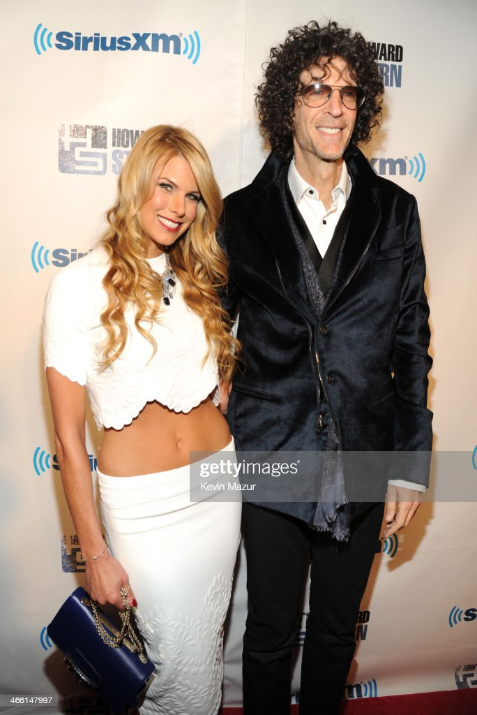 Beth Stern and Howard Stern attend 'Howard Stern's Birthday Bash' presented by SiriusXM produced by Howard Stern Productions at Hammerstein Ballroom...