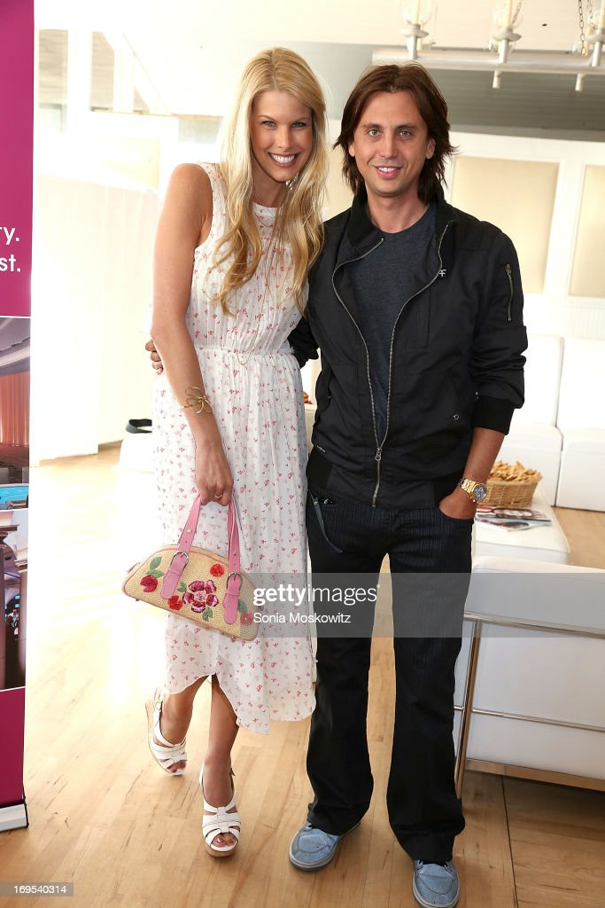 Beth Stern and <a gi-track='captionPersonalityLinkClicked' href=/galleries/search?phrase=Jonathan+Cheban&family=editorial&specificpeople=538047 ng-click='$event.stopPropagation()'>Jonathan Cheban</a> attend Haley & Jason Binn's Annual DuJour Summer Kick Off Soiree with The Borgata Hotel & Casino at Bridgehampton Tennis and Surf Club on May 26, 2013 in Bridgehampton, New York.
