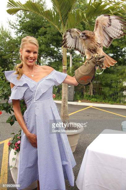 Beth Stern attends the 'Getting Wild' event to benefit the Evelyn Alexander Wildlife Rescue Center at Centro Trattoria and Bar on July 20 2017 in...