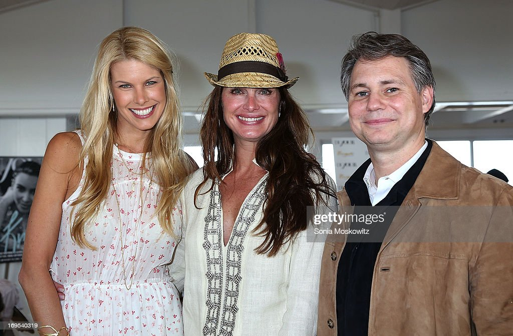 Beth Stern, <a gi-track='captionPersonalityLinkClicked' href=/galleries/search?phrase=Brooke+Shields&family=editorial&specificpeople=202197 ng-click='$event.stopPropagation()'>Brooke Shields</a>, and <a gi-track='captionPersonalityLinkClicked' href=/galleries/search?phrase=Jason+Binn&family=editorial&specificpeople=204684 ng-click='$event.stopPropagation()'>Jason Binn</a> attend Haley & <a gi-track='captionPersonalityLinkClicked' href=/galleries/search?phrase=Jason+Binn&family=editorial&specificpeople=204684 ng-click='$event.stopPropagation()'>Jason Binn</a>'s Annual DuJour Summer Kick Off Soiree with The Borgata Hotel & Casino >> at Bridgehampton Tennis and Surf Club on May 26, 2013 in Bridgehampton, New York.