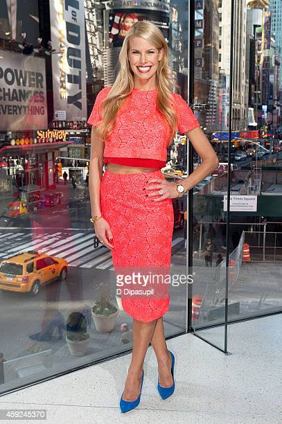 Beth Stern visits 'Extra' at their New York studios at HM in Times Square on November 19 2014 in New York City