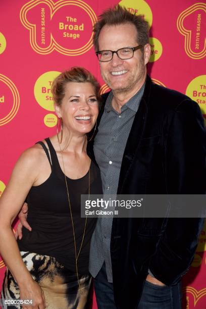 Beth Toussaint and Jack Coleman attend the Opening Night Of 'Born For This' at The Broad Stage on July 20 2017 in Santa Monica California