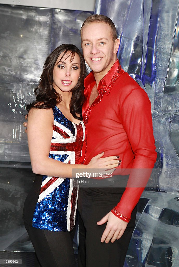 <a gi-track='captionPersonalityLinkClicked' href=/galleries/search?phrase=Beth+Tweddle&family=editorial&specificpeople=804240 ng-click='$event.stopPropagation()'>Beth Tweddle</a> and Dan Whitson attend a photocall to announce the tour of Celebrities On Ice at The Ice Bar on March 12, 2013 in London, England.