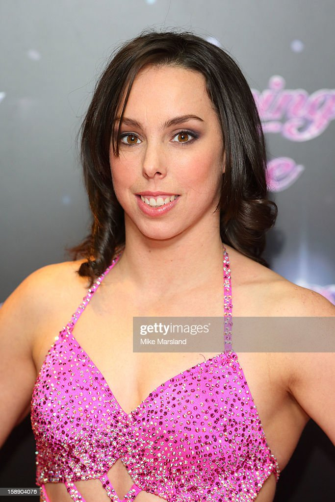 Beth Tweddle attends a photocall for the launch of Dancing on Ice 2013 at The London Television Centre on January 3, 2013 in London, England.