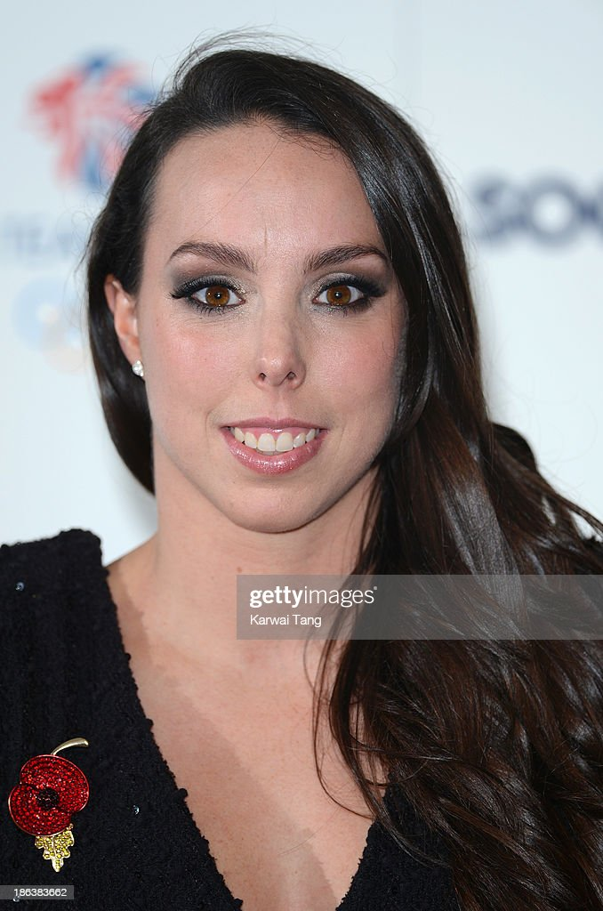 <a gi-track='captionPersonalityLinkClicked' href=/galleries/search?phrase=Beth+Tweddle&family=editorial&specificpeople=804240 ng-click='$event.stopPropagation()'>Beth Tweddle</a> attends the British Olympic Ball at The Dorchester on October 30, 2013 in London, England.