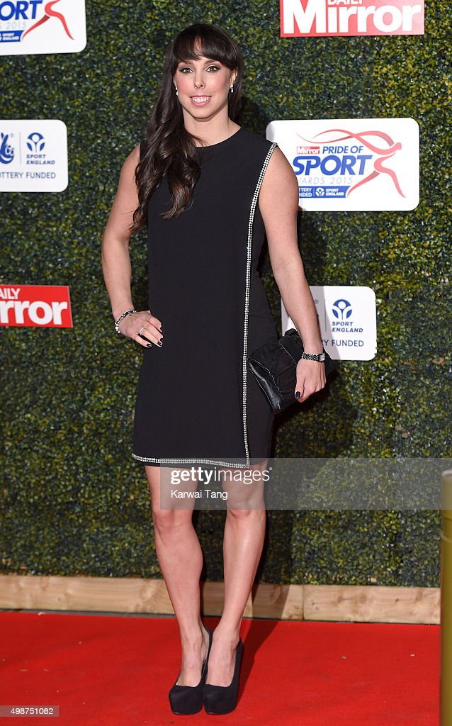 <a gi-track='captionPersonalityLinkClicked' href=/galleries/search?phrase=Beth+Tweddle&family=editorial&specificpeople=804240 ng-click='$event.stopPropagation()'>Beth Tweddle</a> attends the Daily Mirror Pride Of Sport Awards at Grosvenor House on November 25, 2015 in London, United Kingdom.