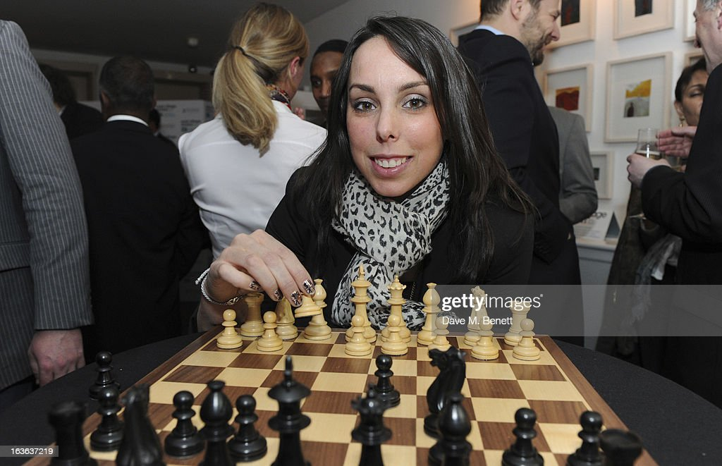 <a gi-track='captionPersonalityLinkClicked' href=/galleries/search?phrase=Beth+Tweddle&family=editorial&specificpeople=804240 ng-click='$event.stopPropagation()'>Beth Tweddle</a> attends the launch of the 'Urban Chess' Funding Initiative from East Village at Mortons on March 13, 2013 in London England.