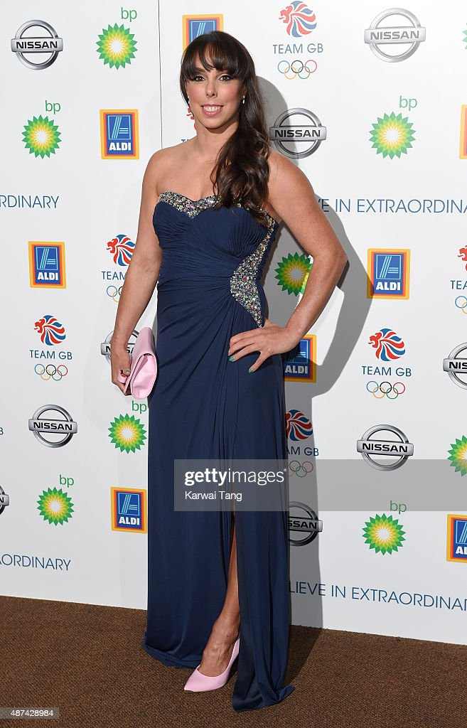 <a gi-track='captionPersonalityLinkClicked' href=/galleries/search?phrase=Beth+Tweddle&family=editorial&specificpeople=804240 ng-click='$event.stopPropagation()'>Beth Tweddle</a> attends the Team GB Olympic Ball at The Royal Opera House on September 9, 2015 in London, England.