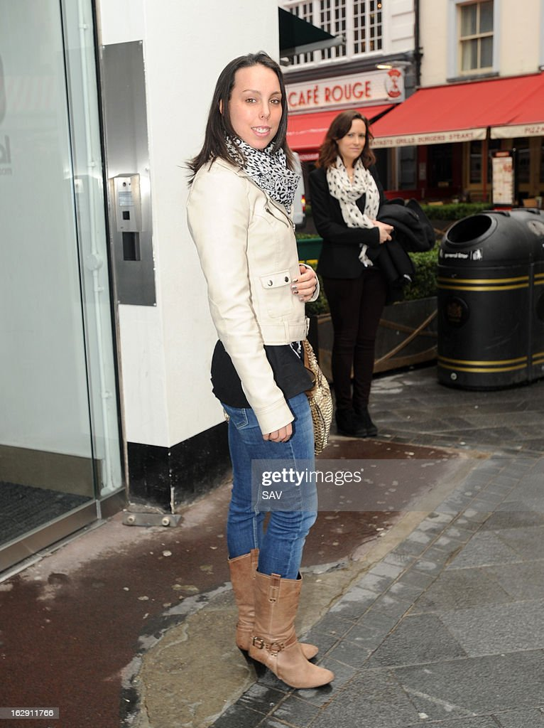 Beth Tweddle pictured at Capital Radio on March 1, 2013 in London, England.