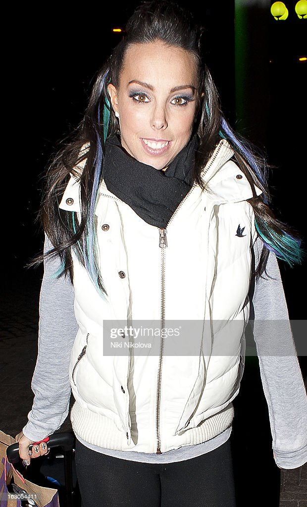Beth Tweddle sighting on March 3, 2013 in London, England.