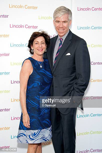 Beth Wilkinson and David Gregory attend the American Songbook Gala 2015 at Alice Tully Hall at Lincoln Center on May 26 2015 in New York City