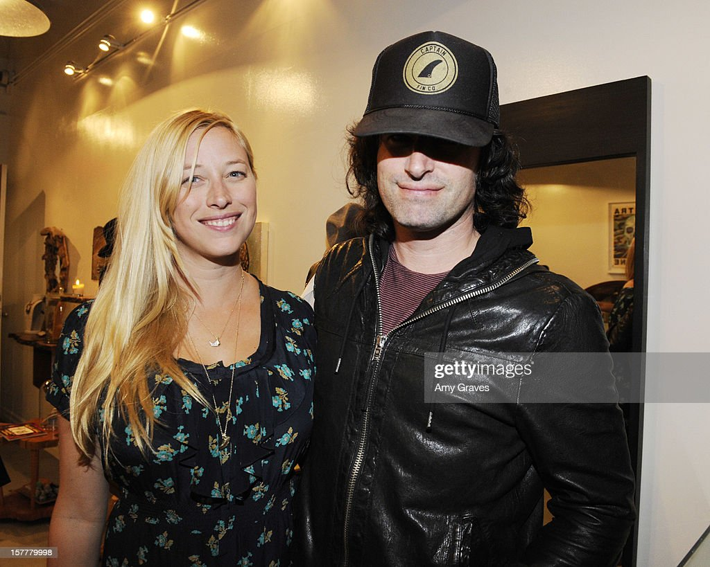Beth Yorn and Pete Yorn attend Beth Yorn's Jewelry Show at Roseark on December 5, 2012 in West Hollywood, California.