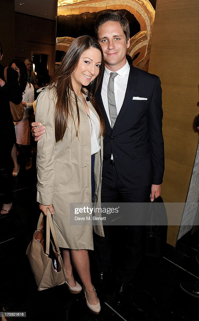 Bethani Stainfield-Bruce (L) and guest attend a private view of the new CHANEL flagship boutique on New Bond Street on June 10, 2013 in London, England.