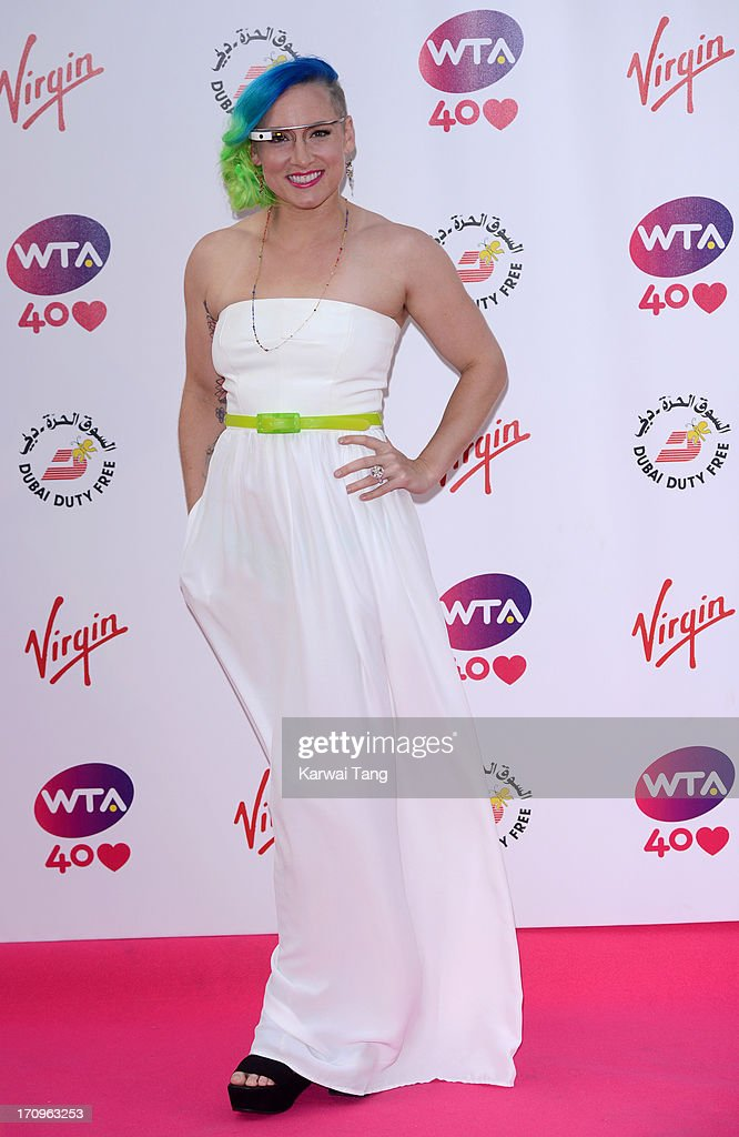 Bethanie Mattek-Sands attends the annual pre-Wimbledon party at Kensington Roof Gardens on June 20, 2013 in London, England.