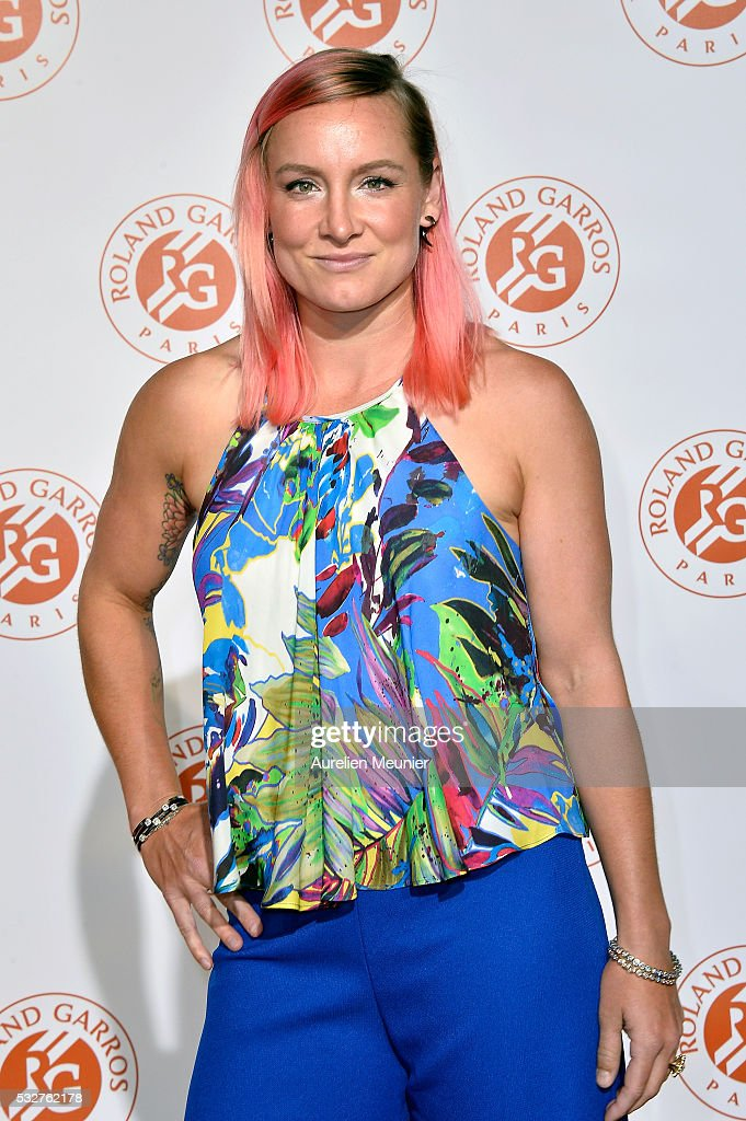 Bethanie Mattek-Sands attends the Roland Garros players' party at Grand Palais on May 19, 2016 in Paris, France.