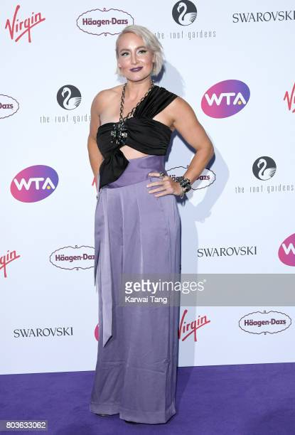Bethanie MattekSands attends the WTA PreWimbledon party at Kensington Roof Gardens on June 29 2017 in London England