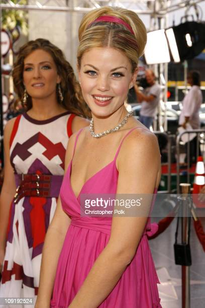 BethAnn Bonner and Bree Williamson during 34th Annual Daytime Emmy Awards Red Carpet at Kodak Theatre in Hollywood California United States