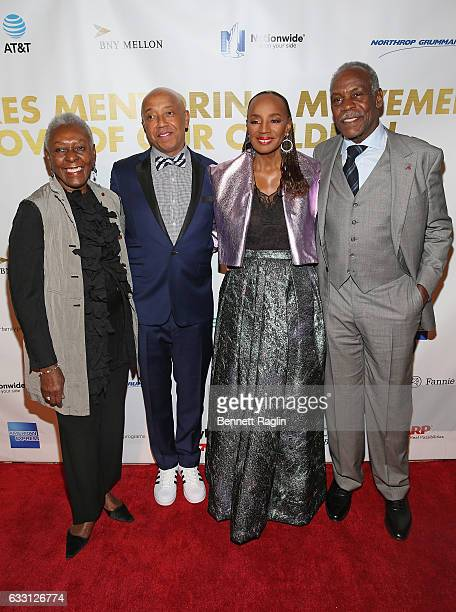 Bethann Hardison Russell Simmons Susan L Taylor and Danny Glover attend the National CARES Mentoring Movement's 2nd Annual 'For the Love of Our...