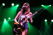 Bethany Cosentino of Best Coast performs on day 3 of Northside Festival on June 13 2015 in Brooklyn United States