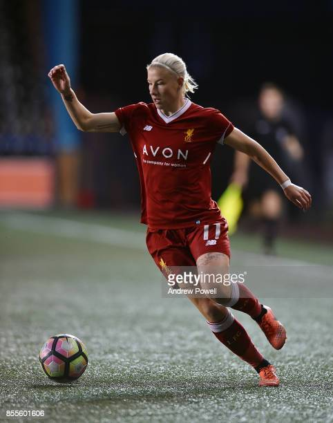 Bethany England of Liverpool Ladies during the Women's Super League match between Liverpool Ladies and Reading FC Women at Select Security Stadium on...