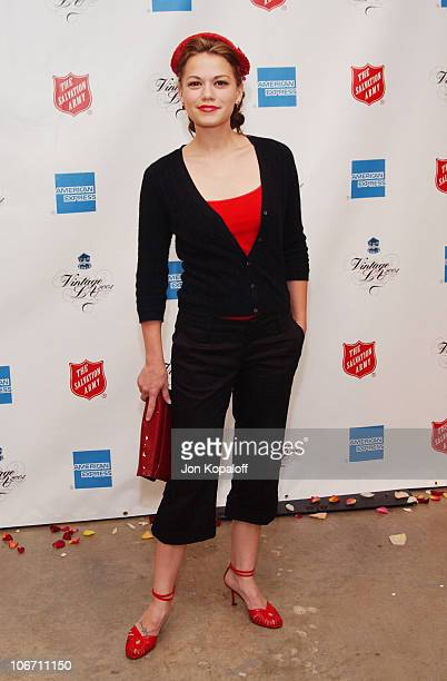 Bethany Joy Lenz during Minnie Driver Hosts Vintage LA Fashion Show Benefiting The Salvation Army Alegria Arrivals at The New Mart in Los Angeles...