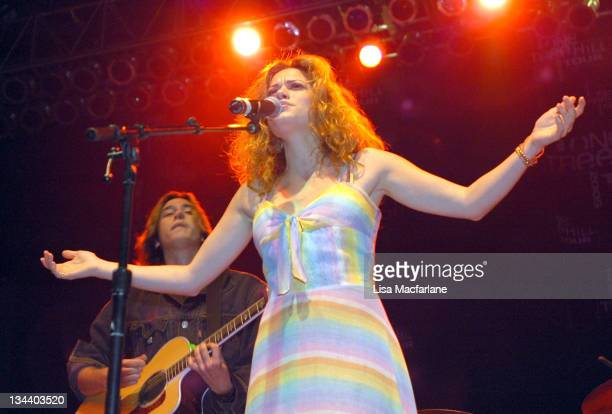 Bethany Joy Lenz during The WB's 'One Tree Hill' Tour at Roseland Ballroom in New York City at Roseland Ballroom in New York City New York United...