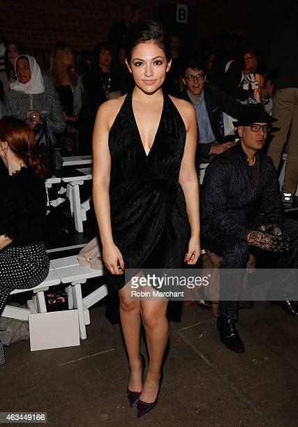 Bethany Mota attends Runway at ArtBeam on February 14 2015 in New York City