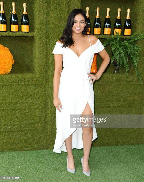 Bethany Mota attends the 8th annual Veuve Clicquot Polo Classic at Will Rogers State Historic Park on October 14 2017 in Pacific Palisades California