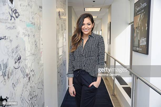 Bethany Mota visits at SiriusXM Studios on February 11 2015 in New York City