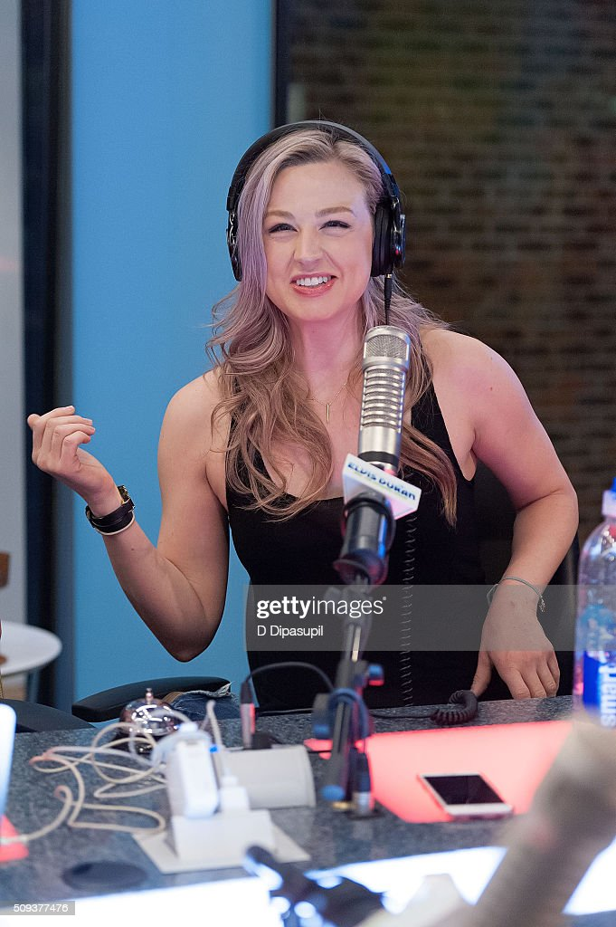 Bethany Watson at 'The Elvis Duran Z100 Morning Show' at Z100 Studio on February 10, 2016 in New York City.
