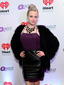 Bethany Watson from Elvis Duran and the Morning Show poses backstage at the Q102's Jingle Ball 2014 at Wells Fargo Center on December 10 2014 in...