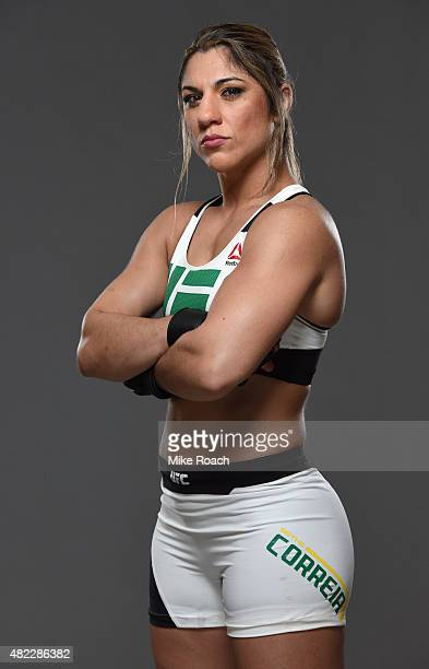 Bethe Correia poses for a portrait during a UFC photo session at the Sheraton Rio Hotel on July 29 2015 in Rio de Janeiro Brazil