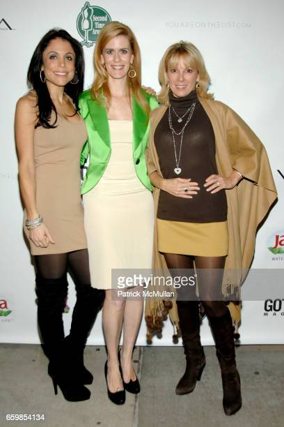 Bethenny Frankel Alex McCord and Ramona Singer attend SECOND TIME AROUND Resale Goes Upscale and Uptown at Second Time Around on November 3 2009 in...