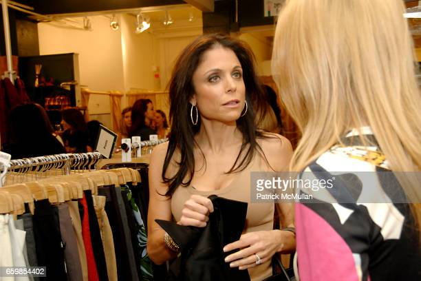 Bethenny Frankel and Alex McCord attend SECOND TIME AROUND Resale Goes Upscale and Uptown at Second Time Around on November 3 2009 in New York City