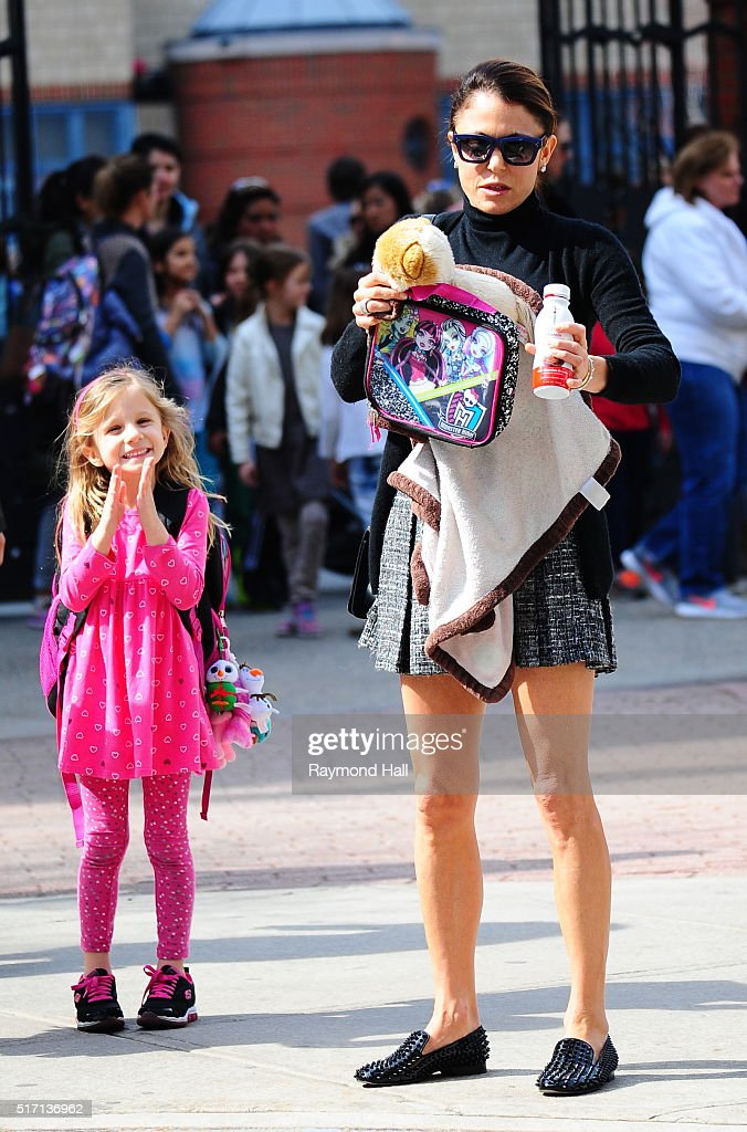 Bethenny Frankel and Bryn Hoppy are seen in Soho on March 23 2016 in New York City